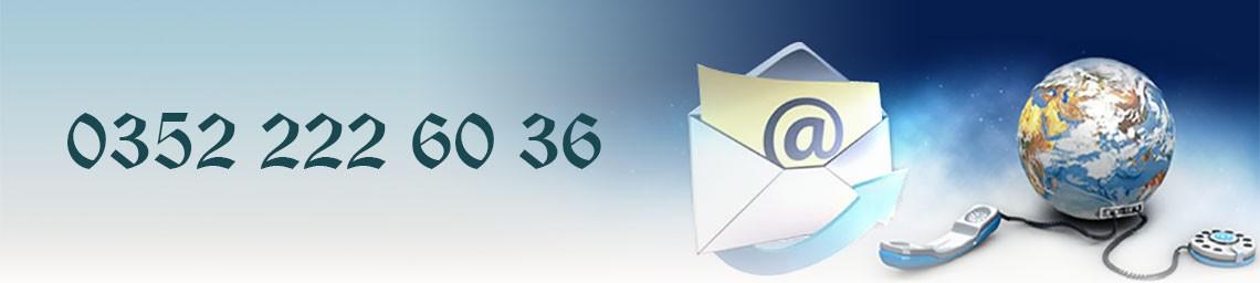 İletişim Sayfası - 0352 222 60 36